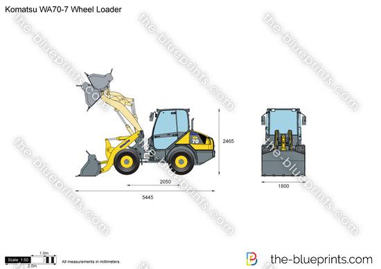 Komatsu WA70-7 Wheel Loader