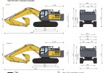 Kato HD1430-7 Hydraulic Excavator