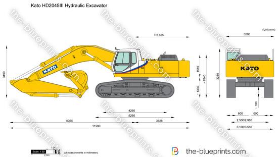 Kato HD2045III Hydraulic Excavator