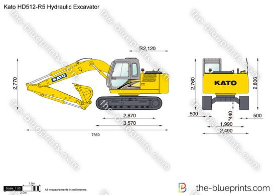 Kato HD512-R5 Hydraulic Excavator