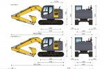 Kato HD514MR-7 Hydraulic Excavator