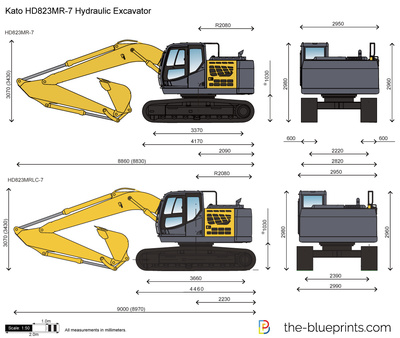 Kato HD823MR-7 Hydraulic Excavator