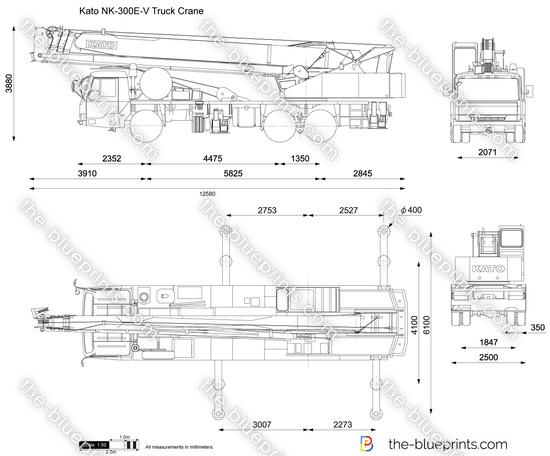 Kato NK-300E-V Truck Crane
