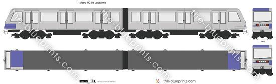 Metro M2 de Lausanne