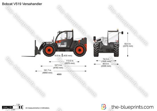 Bobcat V519 Versahandler