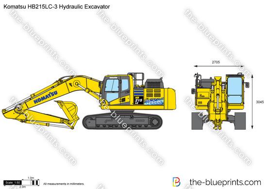 Komatsu HB215LC-3 Hydraulic Excavator