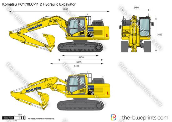 Komatsu PC170LC-11 2 Hydraulic Excavator
