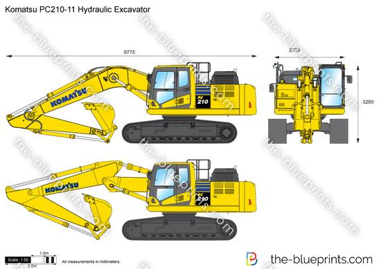 Komatsu PC210-11 Hydraulic Excavator