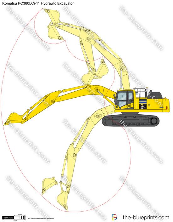 Komatsu PC360LCi-11 Hydraulic Excavator