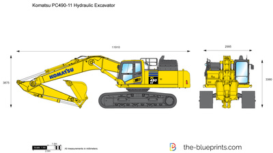 Komatsu PC490-11 Hydraulic Excavator