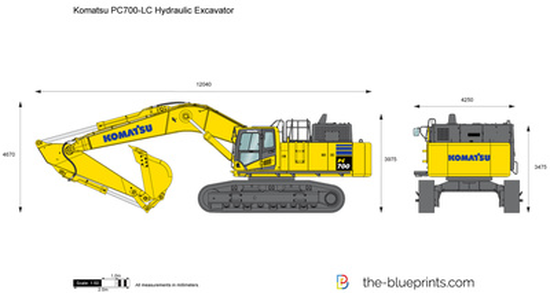 Komatsu PC700-LC Hydraulic Excavator