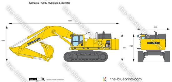 Komatsu PC800 Hydraulic Excavator