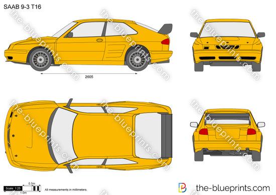 Saab 9-3 T16