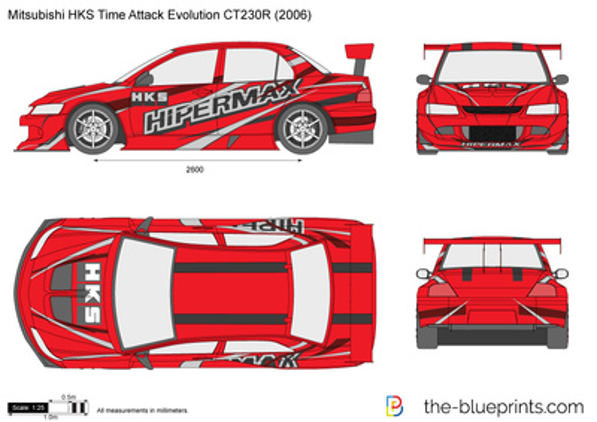 Mitsubishi HKS Time Attack Evolution CT230R