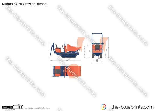 Kubota KC70 Crawler Dumper