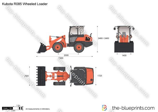 Kubota R085 Wheeled Loader