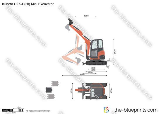 Kubota U27-4 (HI) Mini Excavator