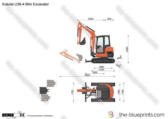 Kubota U36-4 Mini Excavator