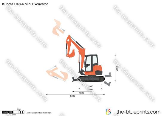 Kubota U48-4 Mini Excavator