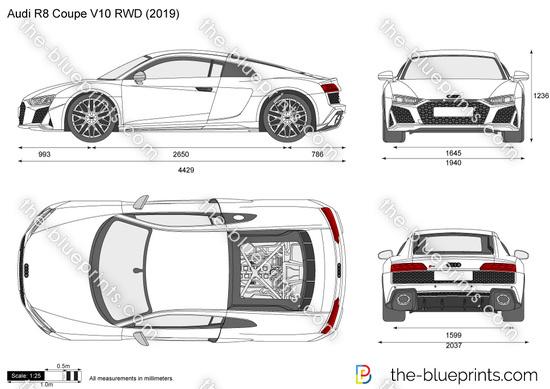 Audi R8 Coupé V10 RWD