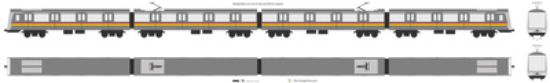 Shanghai Metro Line 5 AC-04 Train (ALSTOM SH Company)