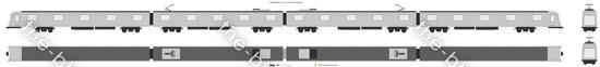 Shanghai Metro Line 9 AC-09 Train (Bombardier)