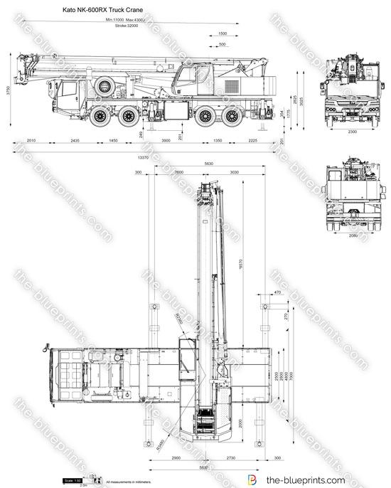 Kato NK-600RX Truck Crane