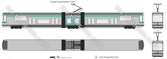 Tramway Francais Standard T1 RATP