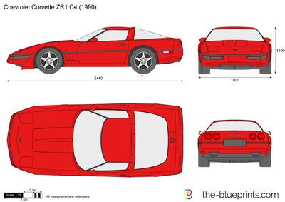 Chevrolet Corvette ZR1 C4 (1990)