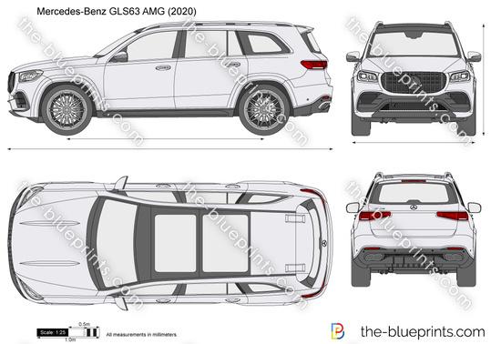 Mercedes-Benz GLS63 AMG X167