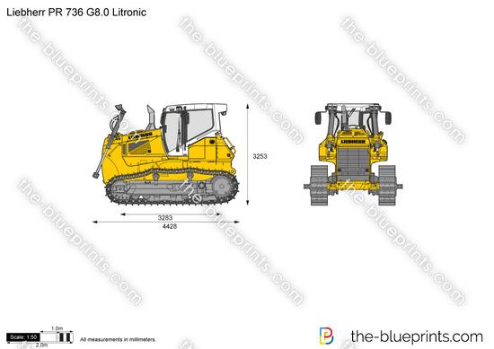 Liebherr PR 736 G8.0 Litronic