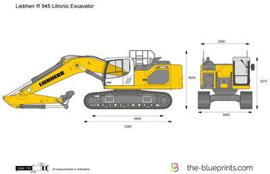 Liebherr R 945 Litronic Excavator