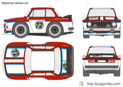 RallysCool cartoon car