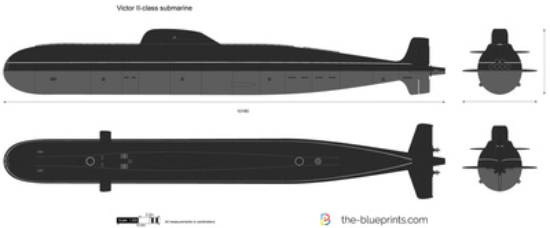Victor II-class submarine