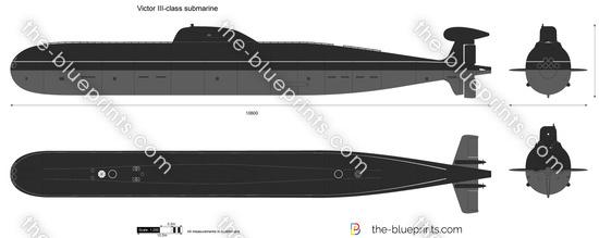 Victor III-class submarine