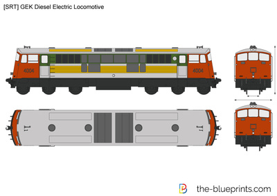 [SRT] GEK Diesel Electric Locomotive