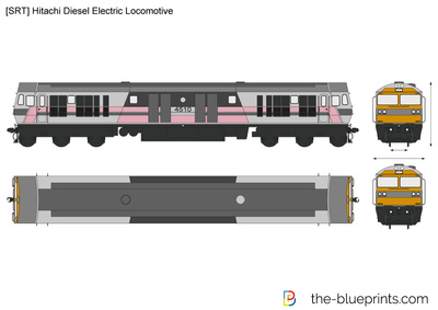 [SRT] Hitachi Diesel Electric Locomotive