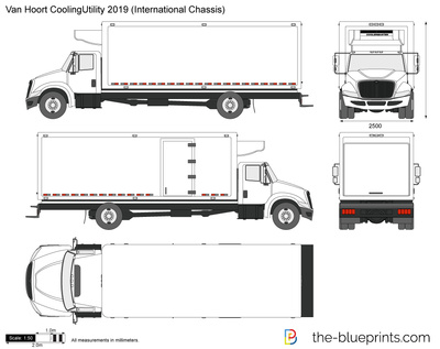 Van Hoort CoolingUtility 2019 (International Chassis)
