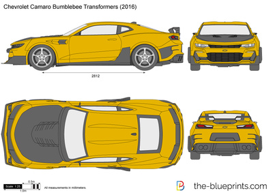Chevrolet Camaro Bumblebee Transformers