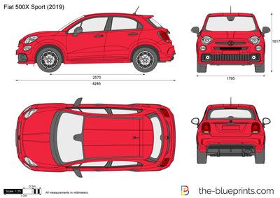 Fiat 500X Sport (2019)