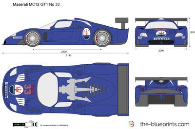 Maserati MC12 GT1 No 33