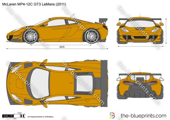 McLaren MP4-12C GT3 LeMans