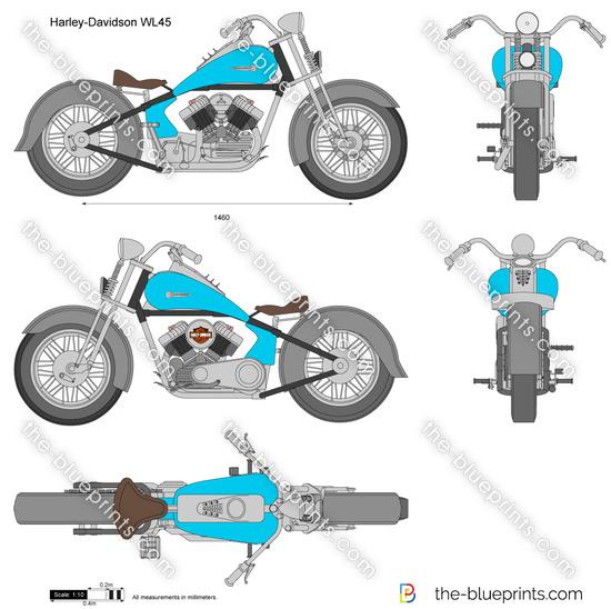 Harley-Davidson WL45