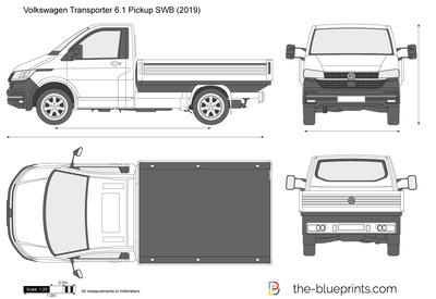 Volkswagen Transporter 6.1 Pickup SWB (2019)