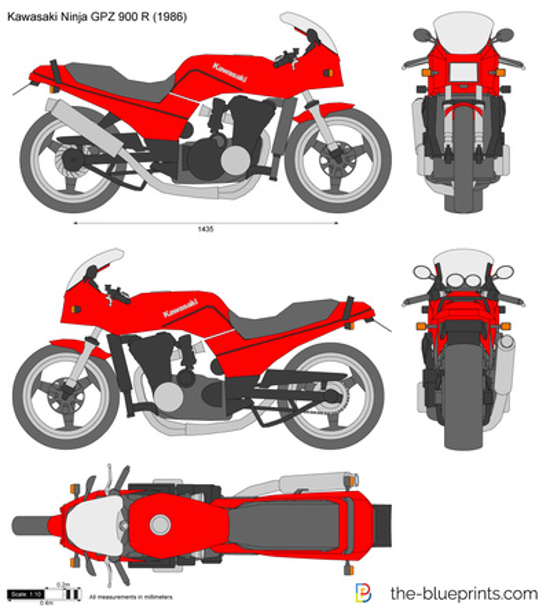 Kawasaki Ninja GPZ 900 R