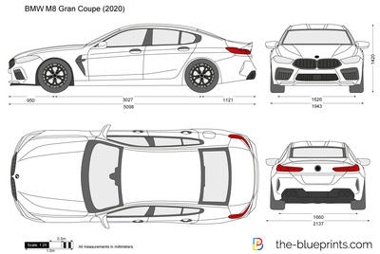 BMW M8 Gran Coupe F93