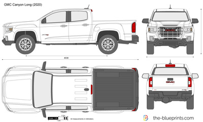 GMC Canyon Long