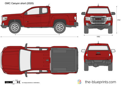GMC Canyon short