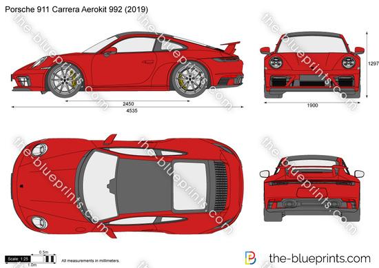 Porsche 911 Carrera Aerokit 992