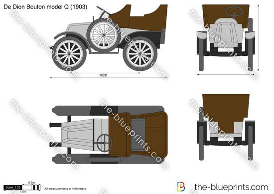 De Dion Bouton model Q